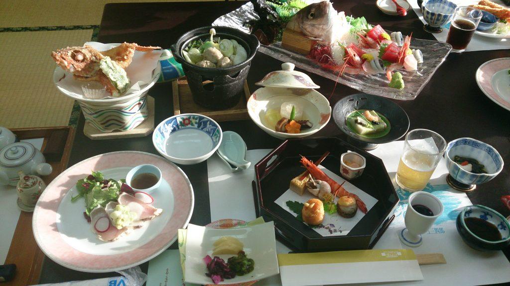 アクーユ三四郎 夕食